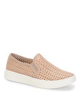 Somers Ii Perforated Leather Sneakers by Sofft