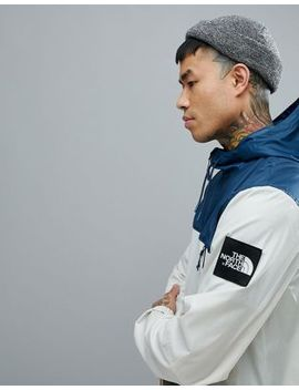 The North Face 1990 Mountain Jacket Hooded In Vintage White/Blue by The North Face