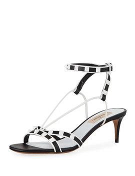 Free Rockstud Kitten Heel Sandal by Valentino Garavani