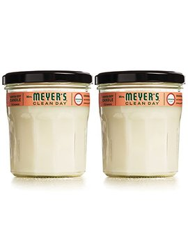 Mrs Meyers Soy Candle Large, Geranium, 7.2 Ounce (Pack Of 2) by Mrs. Meyers