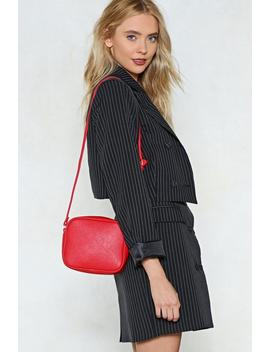 Want Are We Square Vegan Leather Bag by Nasty Gal