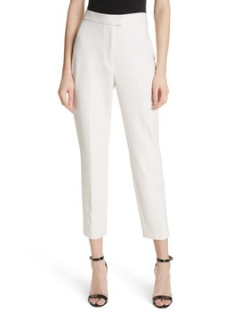 High Waist Cigarette Pants by Milly