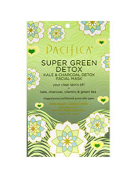 Super Green Detox Kale And Charcoal Facial Mask by Pacifica