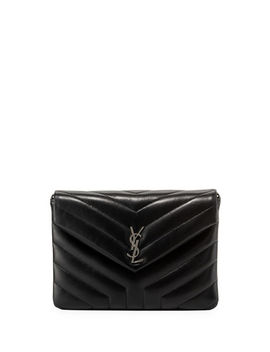 Loulou Mini Monogram Crossbody Bag by Neiman Marcus