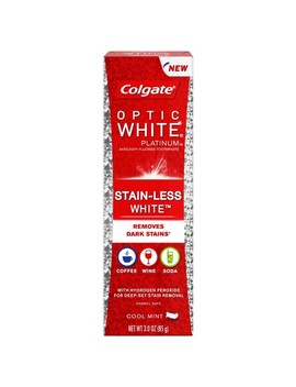 Colgate Optic White Platinum Stain Less White Toothpaste   3.4oz by Colgate