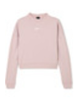 Dry Cropped Cutout French Terry Sweatshirt by Nike
