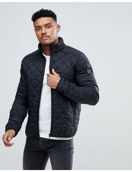 Blend Quilted Jacket In Black by Blend
