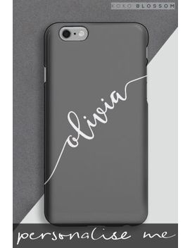 Personalised Scribble Phone Cover By Koko Blossom by Next
