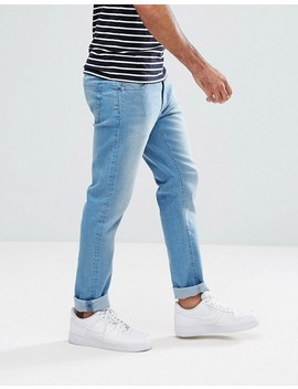 Ldn Dnm – Eng Geschnittene Jeans In Heller Indigowaschung by Jeans