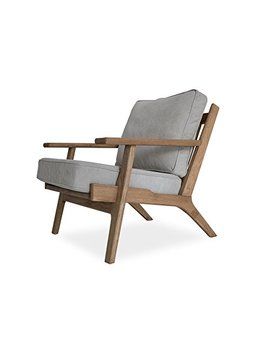 Edloe Finch Ef Z4 Lc006 Webster Lounge Chair, Gray by Edloe Finch