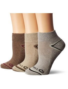 Merrell Women's Hiker Quarter 3 Pack Sock by Merrell