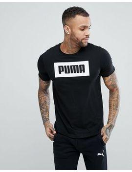 Puma – Rebel – Schwarzes, Schlichtes T Shirt, 85055401 by Puma