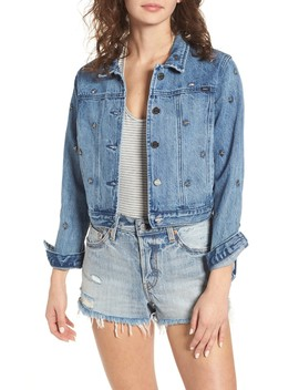 Stardom Studded Denim Jacket by Obey
