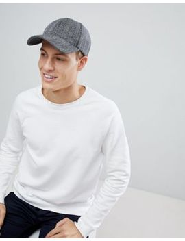 Esprit Baseball Cap In Herringbone by Esprit