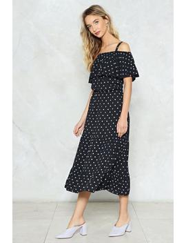 In A Spot Of Trouble Midi Dress by Nasty Gal
