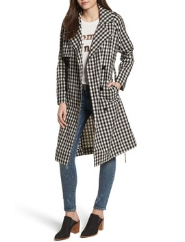 Gingham Trench Coat by Ten Sixty Sherman