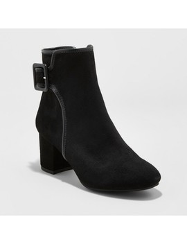 Women's Mountain Sole® Carrington Buckle Ankle Booties by Mountain Sole