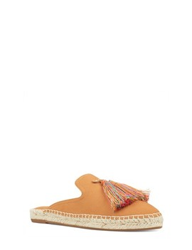 Pompom Espadrille Mule by Soludos