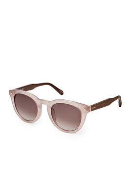Saybrook Round Sunglasses by Fossil