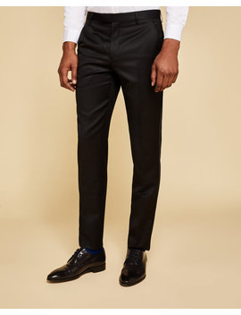 Wool And Mohair Dinner Suit Pants by Ted Baker