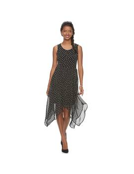 Women's Elle™ Handkerchief Fit & Flare Dress by Kohl's