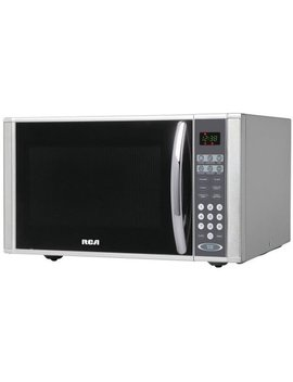 Rca 1.1 Cu Ft Stainless Steel Design Microwave by Rca