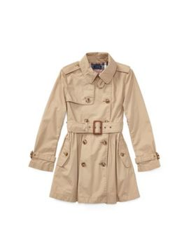 cotton-swing-trench-coat by ralph-lauren