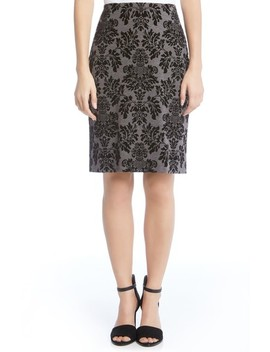 Emily Lace Pencil Skirt by Standards & Practices