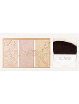 Shimmer & Strobe Highlighting Palette by Flower Beauty