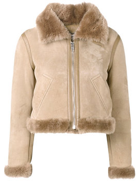 Bombadier Velour Jacket by Balenciaga