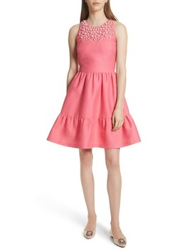 embellished-mikado-fit-and-flare-dress by kate-spade-new-york