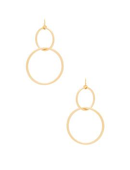 The Interlocking Hoop Earrings by Vanessa Mooney