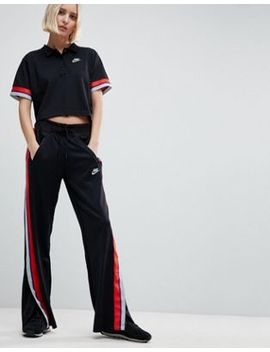 Nike Retro Trimmed Track Pants In Black by Nike