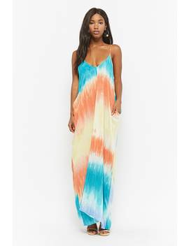 Tie Dye Cami Maxi Dress by Forever 21