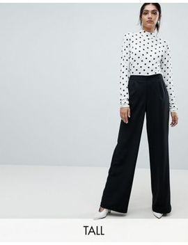Vero Moda Tall High Waist Wide Leg Pant by Vero Moda Tall