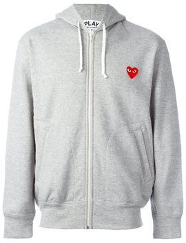 Zipped Hoodie by Comme Des Garçons Play