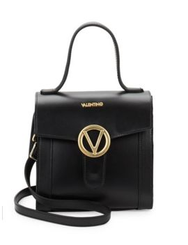 Arielle Leather Top Handle Bag by Valentino By Mario Valentino