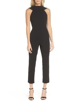 Roll Neck Jumpsuit by Adrianna Papell