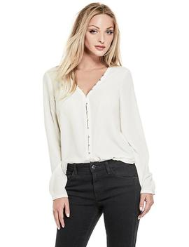 Quinn Ruched Top by Guess