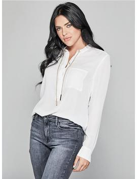 Sitting Pretty Blouse by Guess