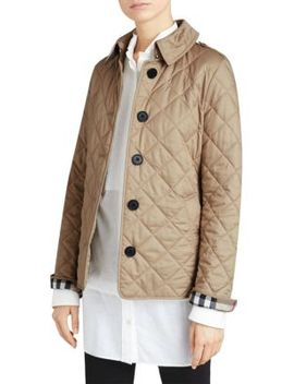 Frankby Quilted Jacket by Burberry