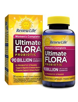 Renew Life   Ultimate Flora Probiotic Women's Care   90 Billion   30 Vegetable Capsules by Renew Life