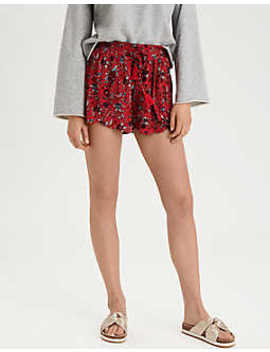 Ae Printed Dolphin Short by American Eagle Outfitters