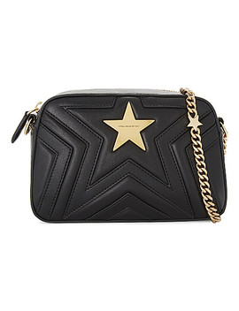 Star Faux Leather Cross Body Camera Bag by Stella Mccartney