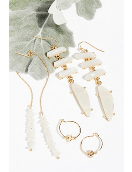 Raw Stone Threader Set by Free People