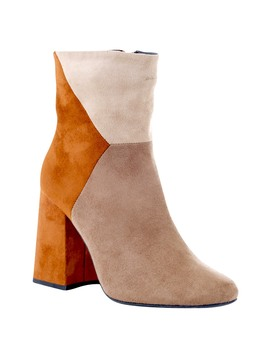 Anubis Retro Heeled Bootie by Gc Shoes