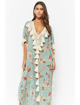 Z&L Europe Floral Kaftan by Forever 21