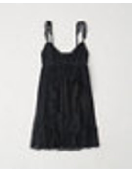 Ruffle Babydoll Dress by Abercrombie & Fitch