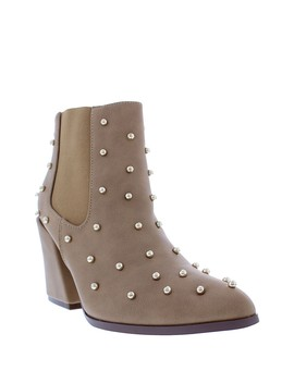 Lyndon Studded Ankle Booties by Liliana