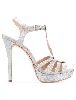 T Bar Glittery Sandals by Schutz